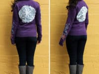 Lace backed hoodie 200x150 15 Awesome Clothing Alterations Involving Lace