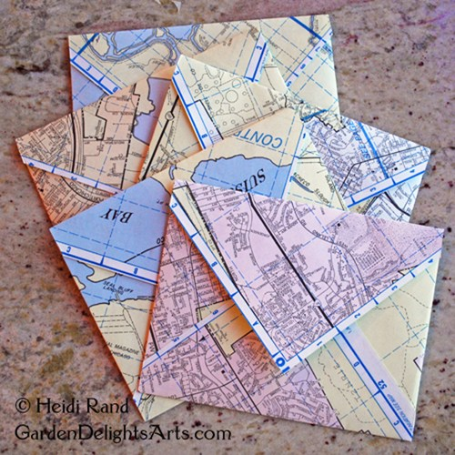 Map envelopes