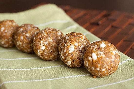 No-bake apricot nut balls