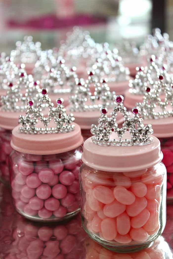 Princess treasure candy jars
