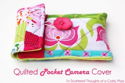 Quilted camera case