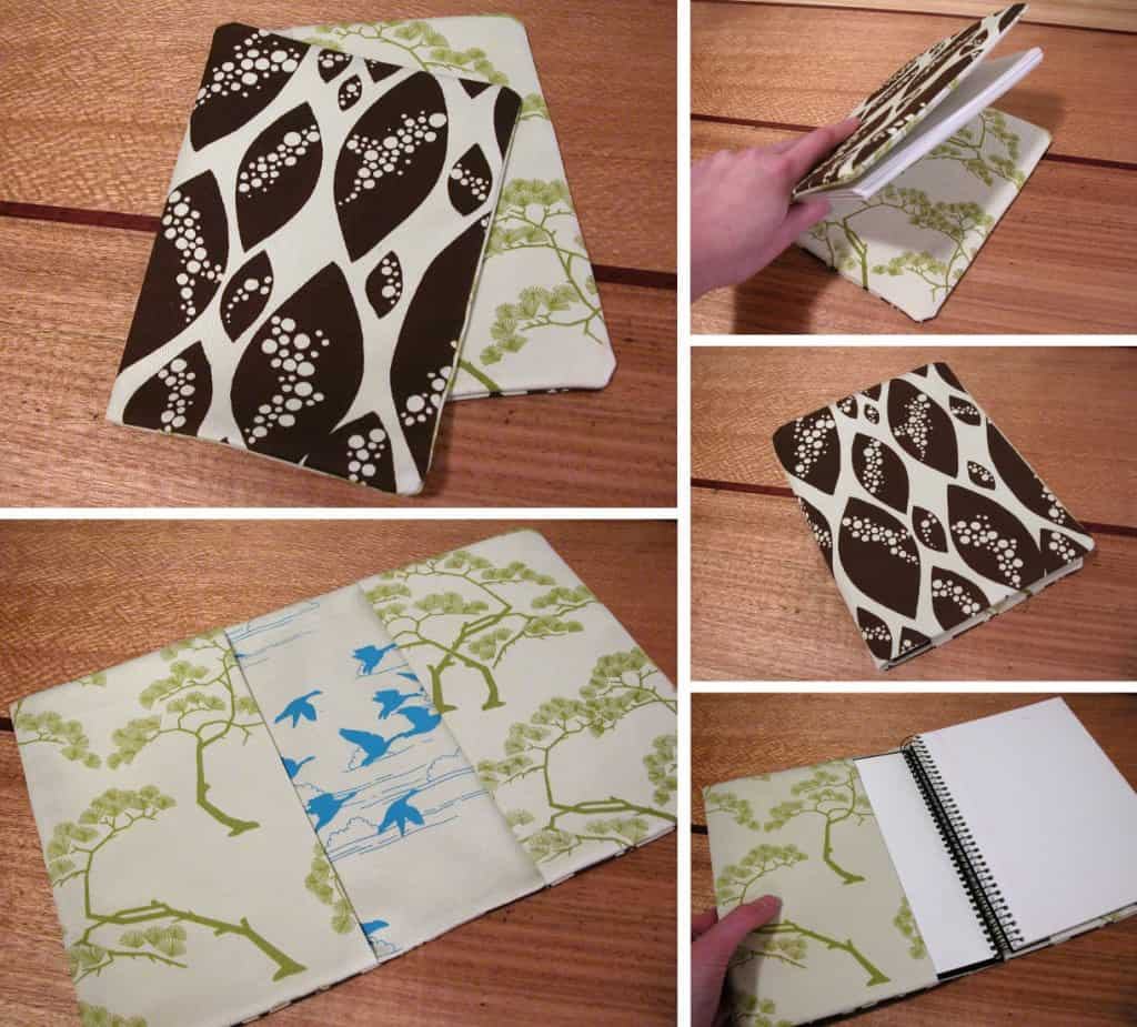 Reversible journal cover