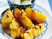 Salt and sticky maple pineapple 200x150 15 Delicious Recipes for Pineapple Lovers