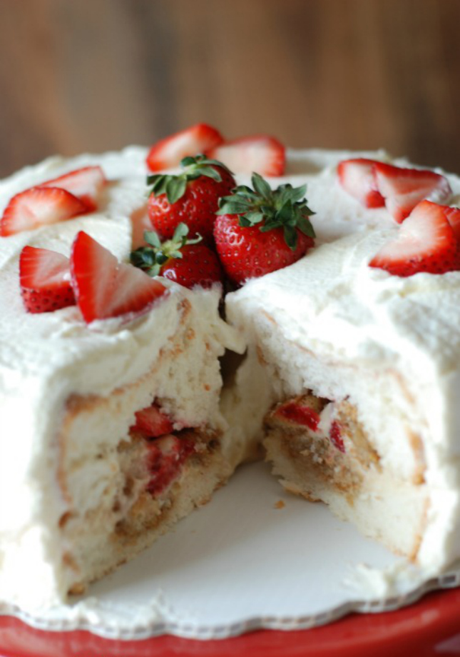 15 mouthwatering recipes for angel food cake enthusiasts view in gallery strawberry tiramisu angel food cake forumfinder Images