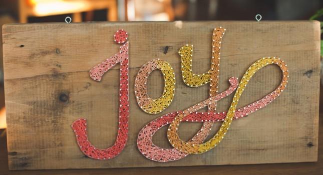 Swirling letters