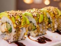 Teriyaki chicken sushi roll 200x150 15 Homemade Sushi Recipes For Date Night