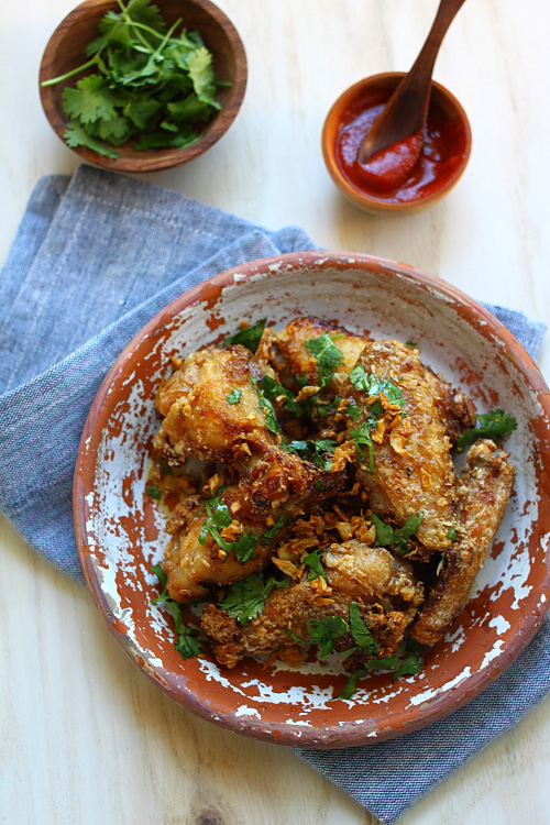 Vietnamese fish sauce wings