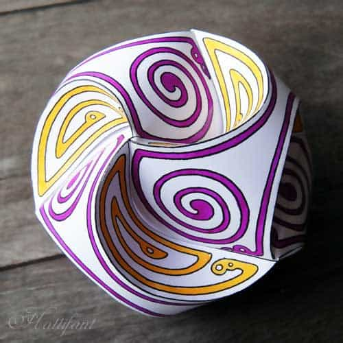 adult coloring book paper ball