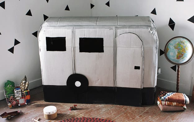 camper van playhouse