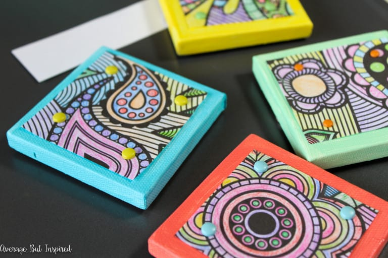 Give Your Favorite Adult Coloring Book Pages a New Life