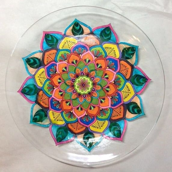 crafty-coloring-pages-mandala-plate
