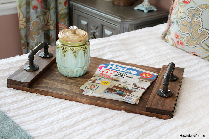 Diy Wooden Tray With Handles