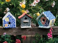 mosaic 1 200x150 10 DIY Birdhouses For Your Feathered Friends