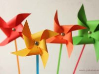 unicolor 200x150 DIY Pinwheels You Can Make Together With Your Kids