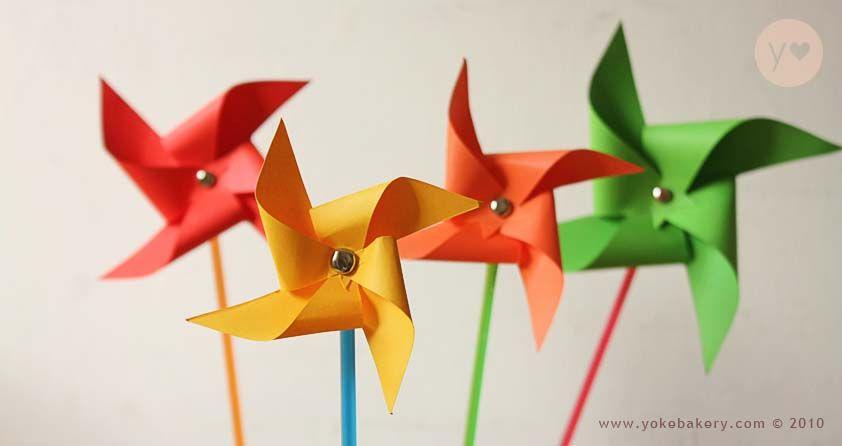 Unicolor pinwheel