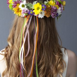 Coachella Inspired DIY Flower Crowns