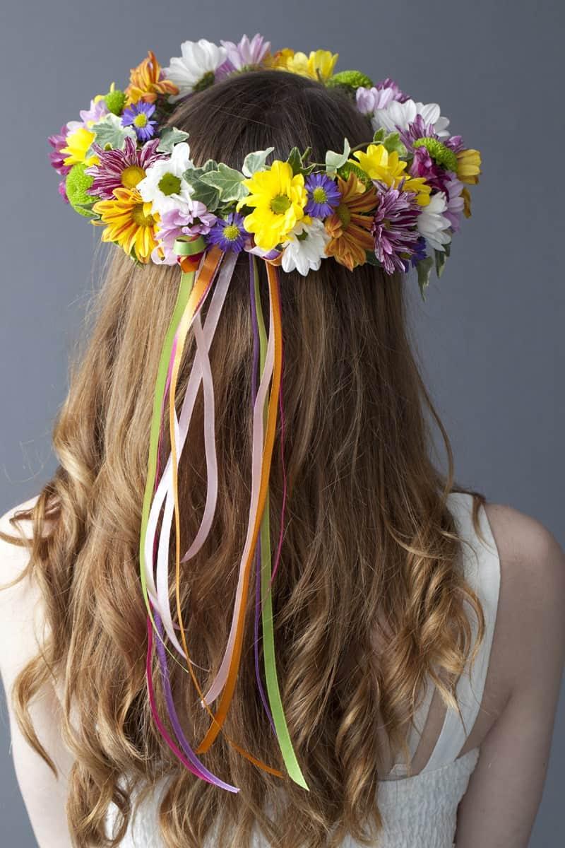 Coachella inspired diy flower crowns izmirmasajfo