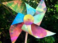 watercolor 200x150 DIY Pinwheels You Can Make Together With Your Kids