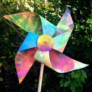 DIY Pinwheels You Can Make Together With Your Kids