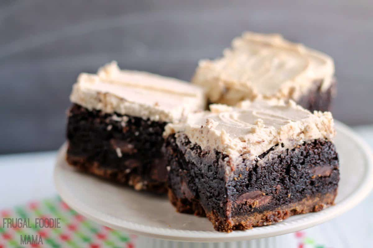 Biscoff gingersnap brownies