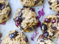 Blueberry breakfast cookies 200x150 Recipes That Are Perfect for Blueberry Fanatics