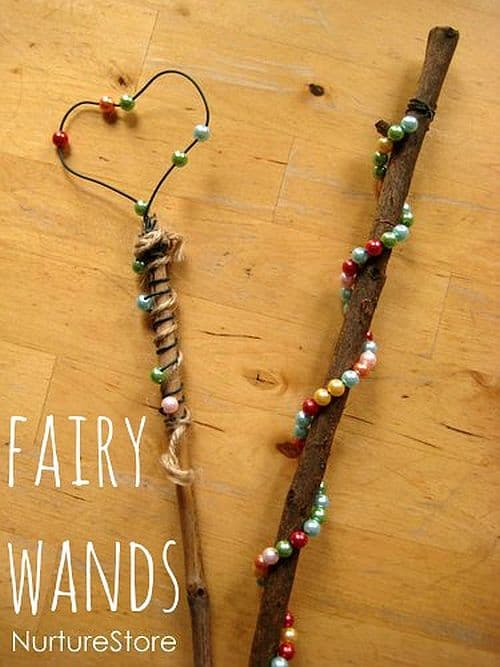 DIY Magic Fairy Wands