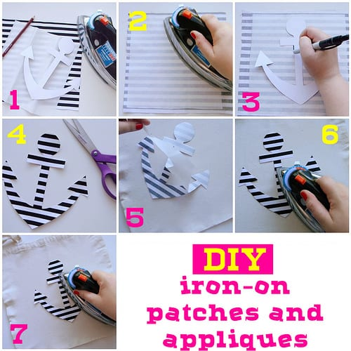 DIY iron-on patches