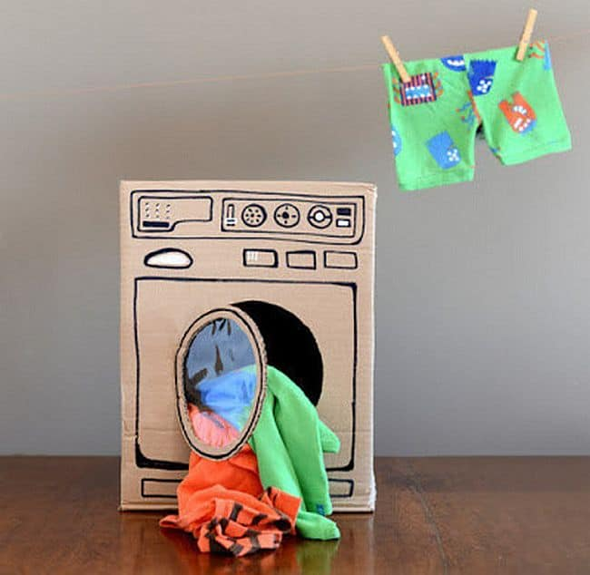 DIY cardboard dryer