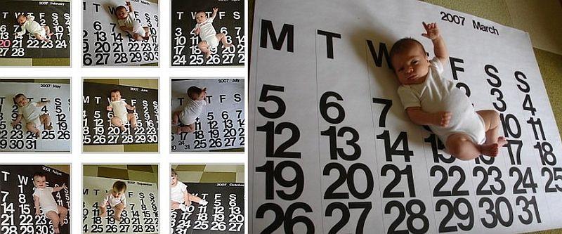 Jumbo Calendar