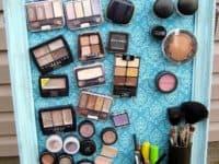Make Up Magnet Board 200x150 DIY Make Up Organization Tips And Tricks