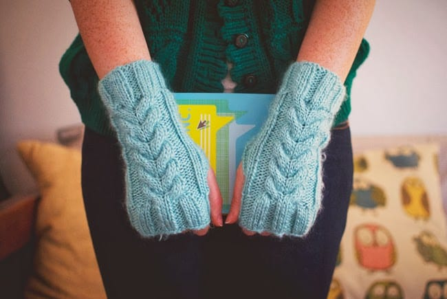 Miracle cable hand warmers