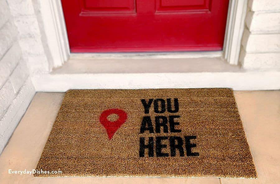 Navigation Doormat