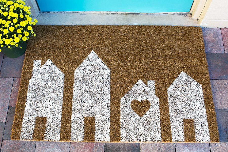 Painted House Doormat