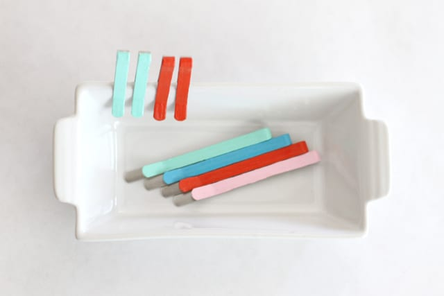 Polish painted bobby pins