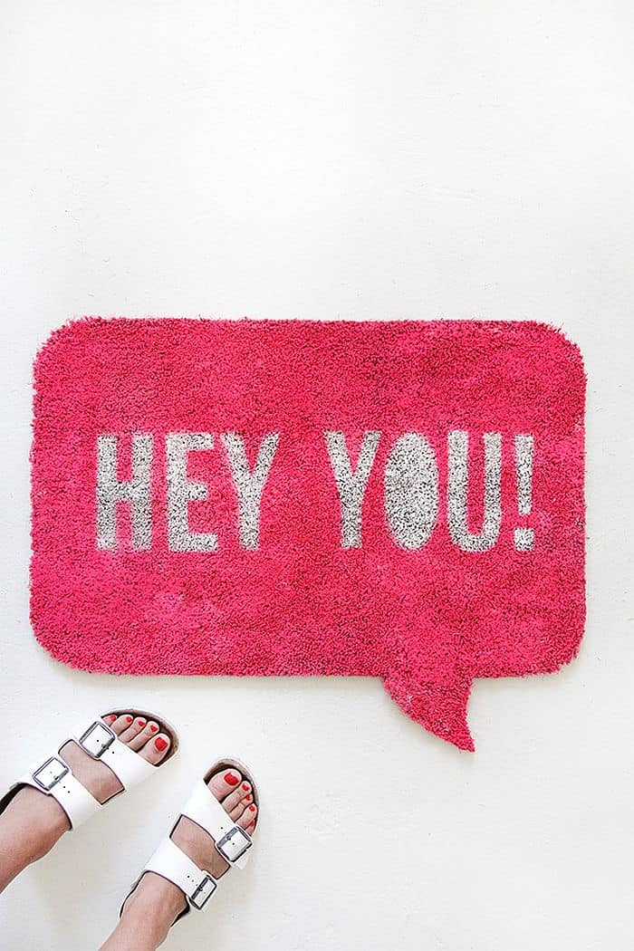 Quote Bubble Doormat