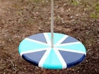 Round Rope Swing 200x150 Swing Nostalgia Away: 10 DIY Swings For Kids And Adults