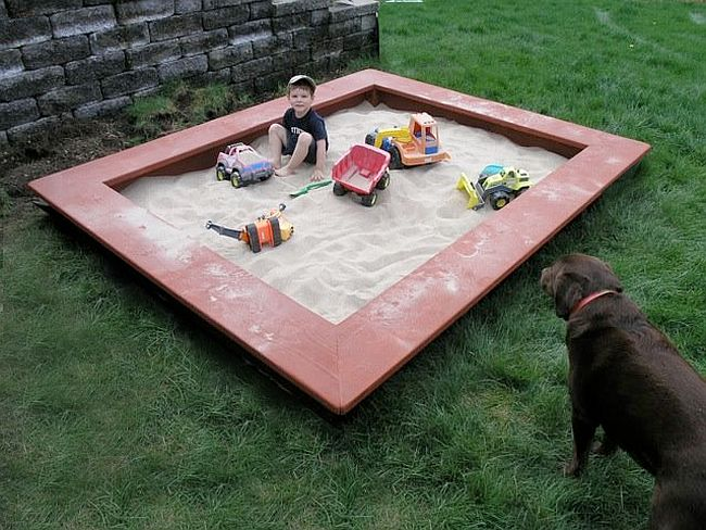 Sandbox With Seats