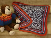 Sleepy Monkey blanket 200x150 Fair Isle Knitting Projects Experienced Knitters Will Adore!