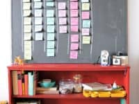 Sticky notes on chalkboard wall 200x150 DIY To Do Lists That Will Totally Motivate You