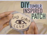 Tumblr inspired patches 200x150 15 DIY Patches and Patched Clothing Looks