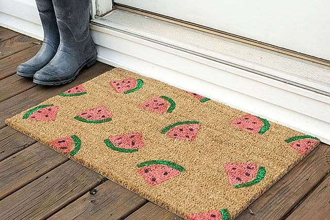 Watermelon Doormat