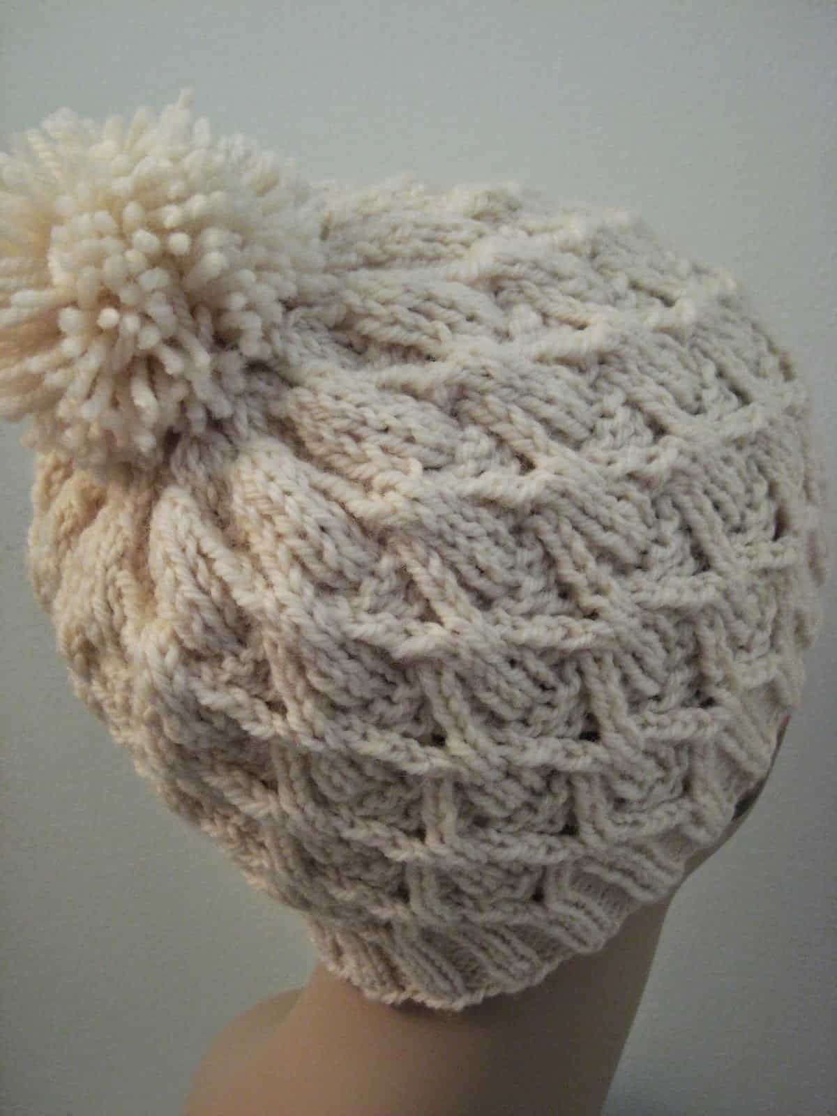 Wickerwork hat