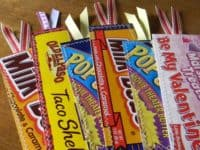 box bookmarks 200x150 Indulge Your Sweet Tooth: Candy Wrappers to Make Cute DIY Projects