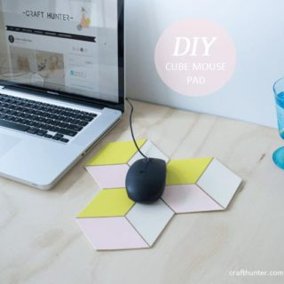 A Quick Click: 9 Totally Chic DIY Mouse Pads