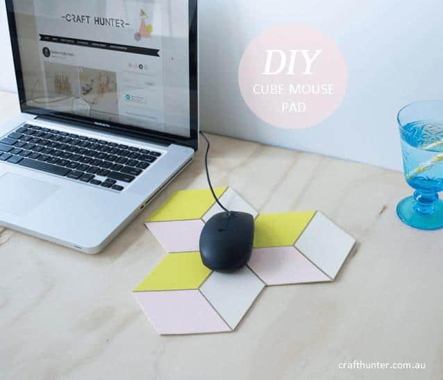 DIY Cube Mouse Pad