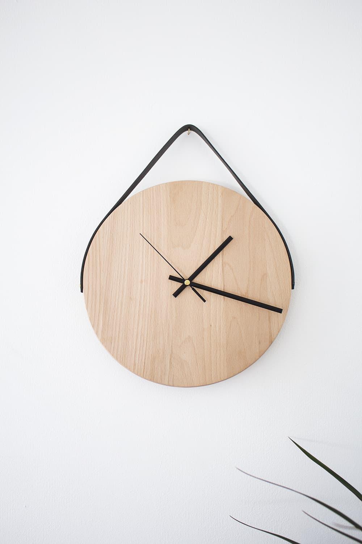 Minimal DIY wall clock