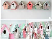 Bird house key rack 200x150 Fun and Functional DIY Novelty Keyholders You'll Adore