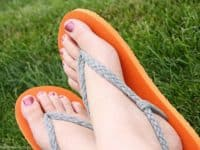 Braided Straps 200x150 9 DIY Flip Flop Makeovers