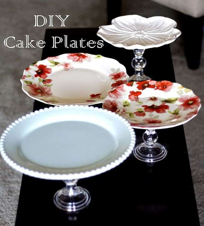 11 trendy diy cake stands. Black Bedroom Furniture Sets. Home Design Ideas