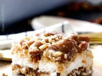 Caramel Pecan Toffee Ice Cream Cake 200x150 Make Your Next Party A Hit With DIY Ice Cream Cakes